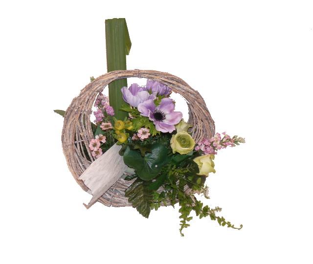 composition florale - pompes funèbres crespel